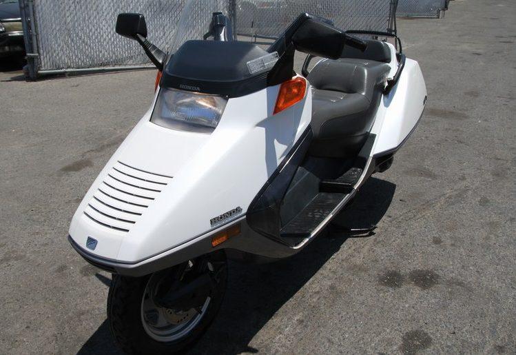 Maxi Scooter: 1986 Honda Helix