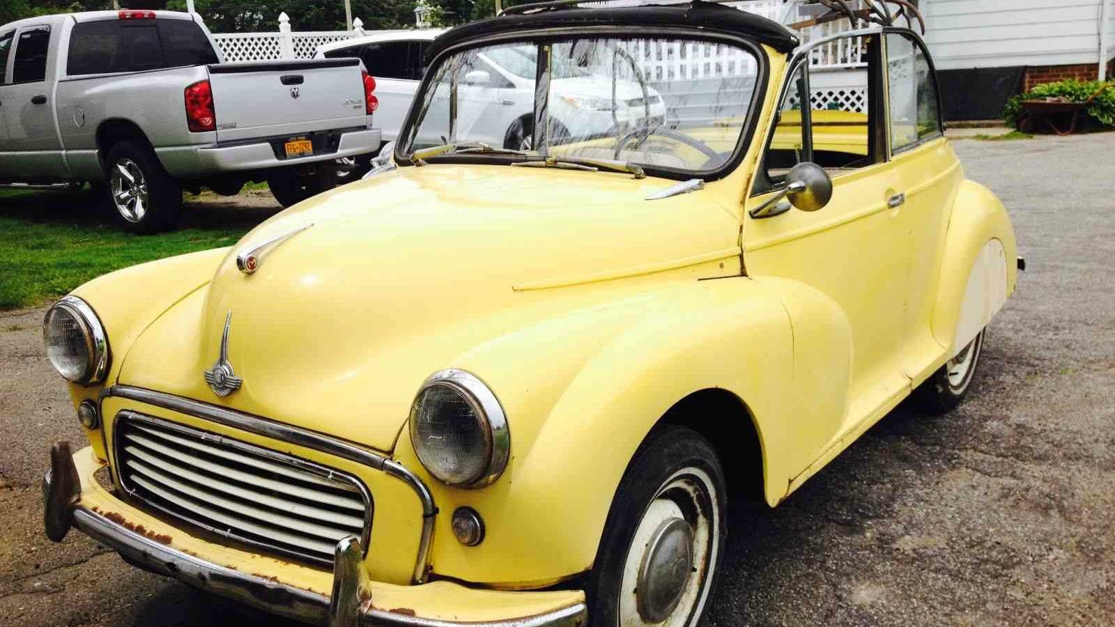 Cheap Amp Cheerful 1958 Morris Minor Convertible