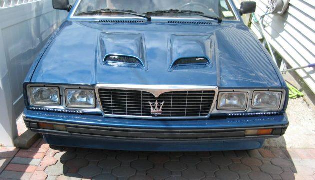 Of Course It's a 5-Speed: 1987 Maserati Biturbo