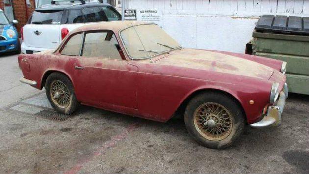 Anglo-Italian Combination: 1960 Triumph Italia 2000