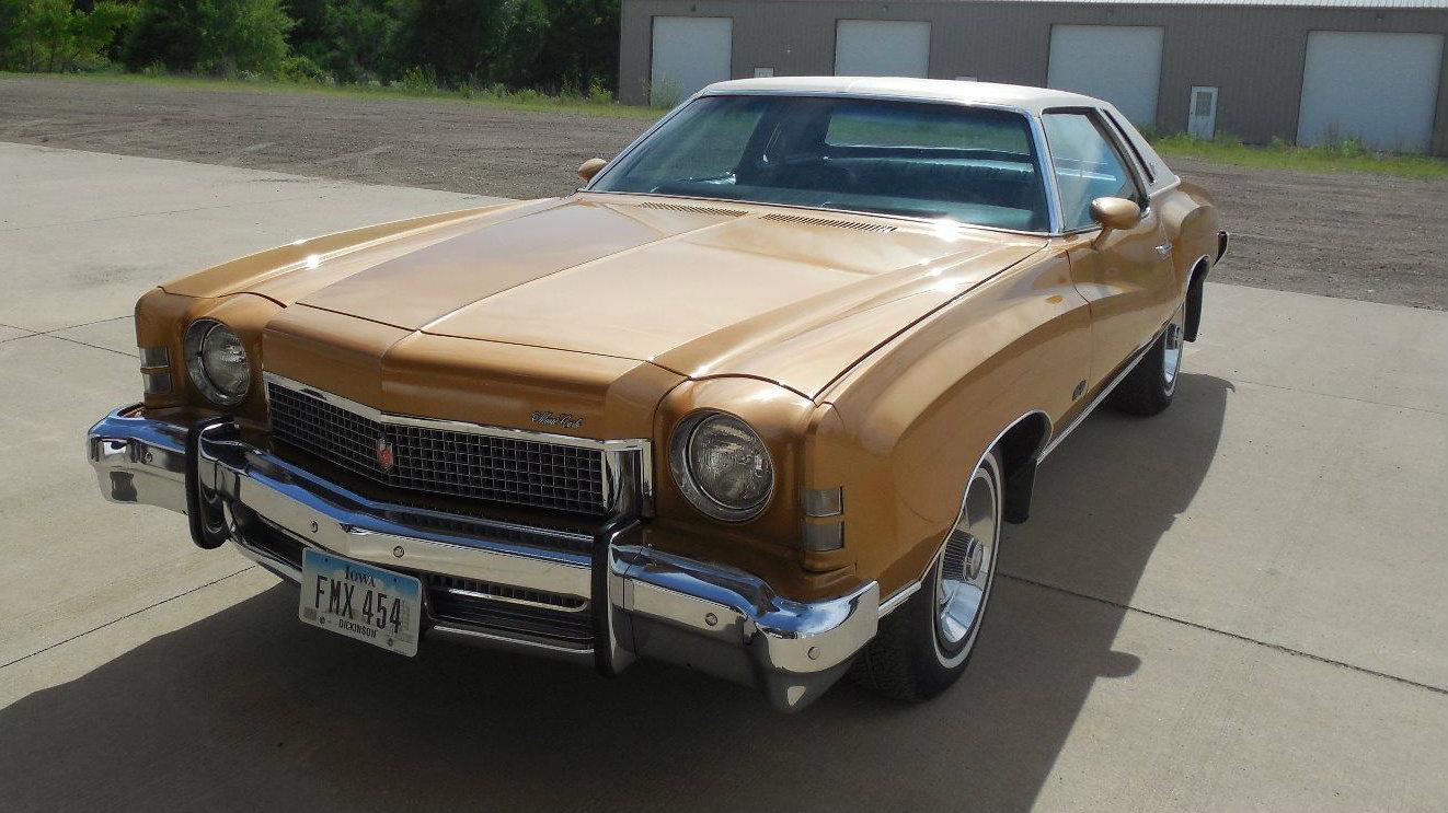 Chevrolet Pick Up 2017 >> Super Clean Restovivor: 1973 Chevrolet Monte Carlo