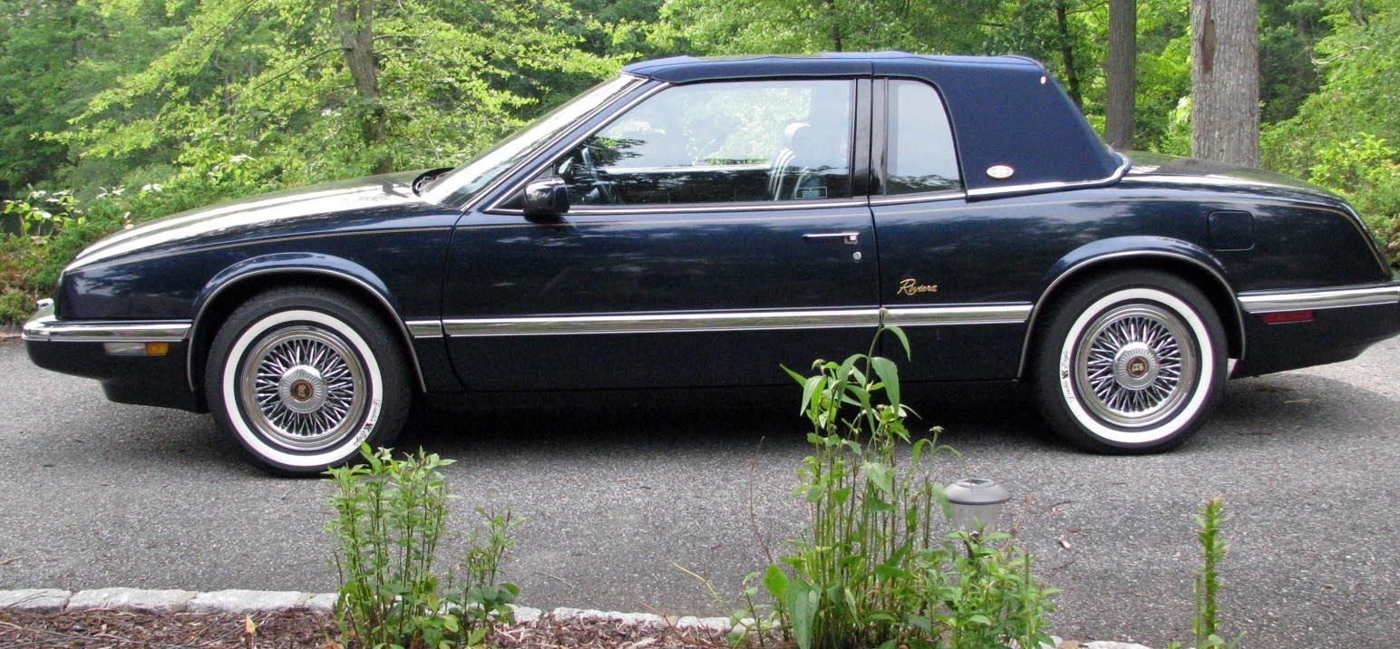 Costly Car Tune Up >> Touchscreen Included: 1989 Buick Riviera