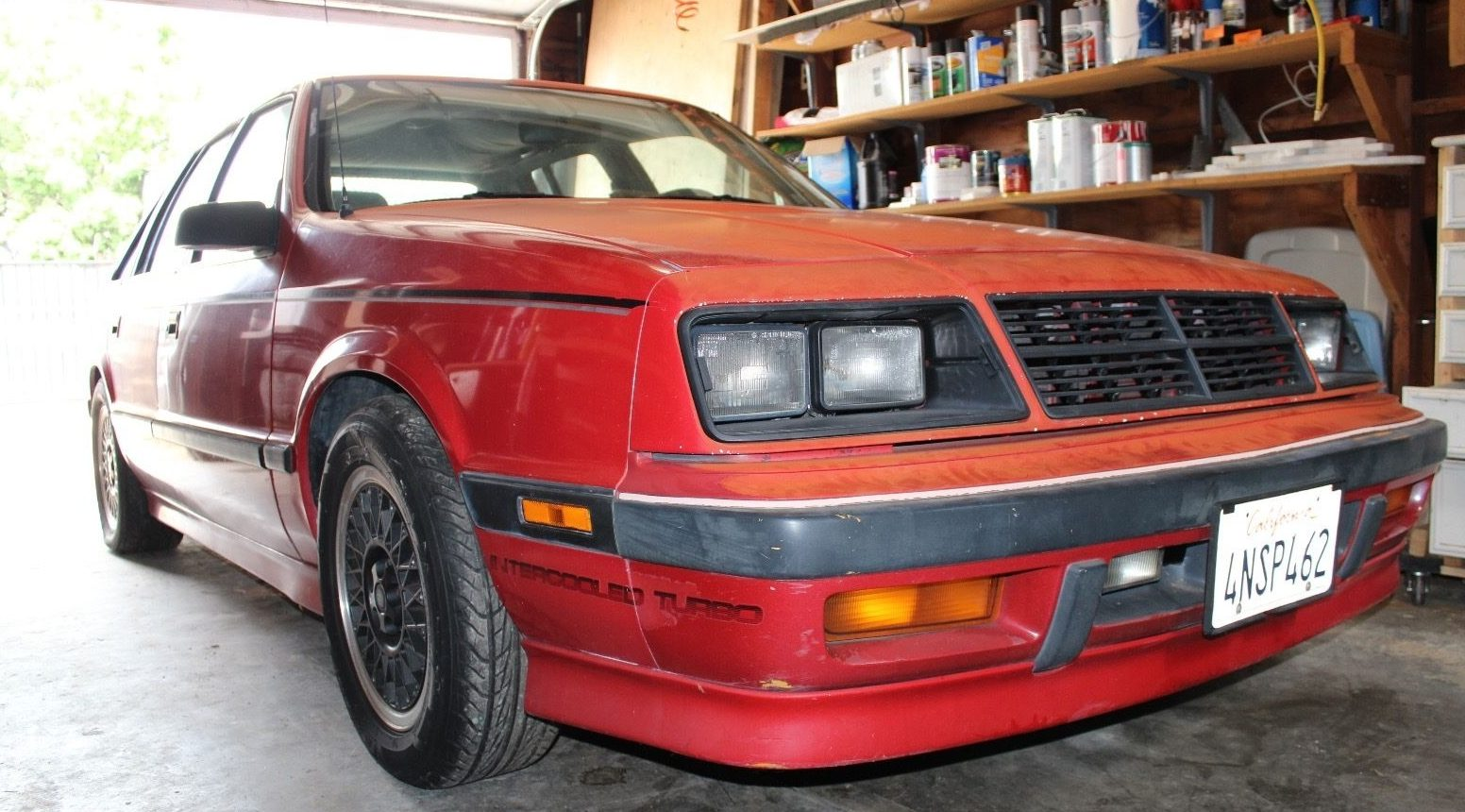 Cash For Clunkers >> Saved from Scrapper: 1987 Shelby Lancer