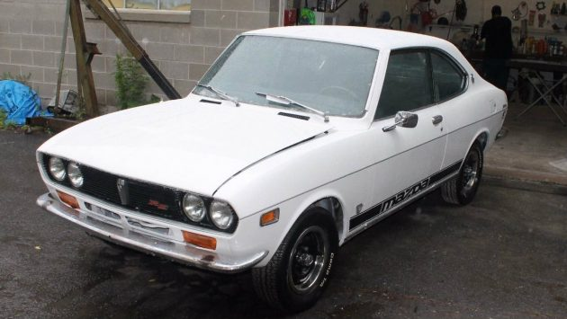 Early Rotary Find: 1973 Mazda RX2