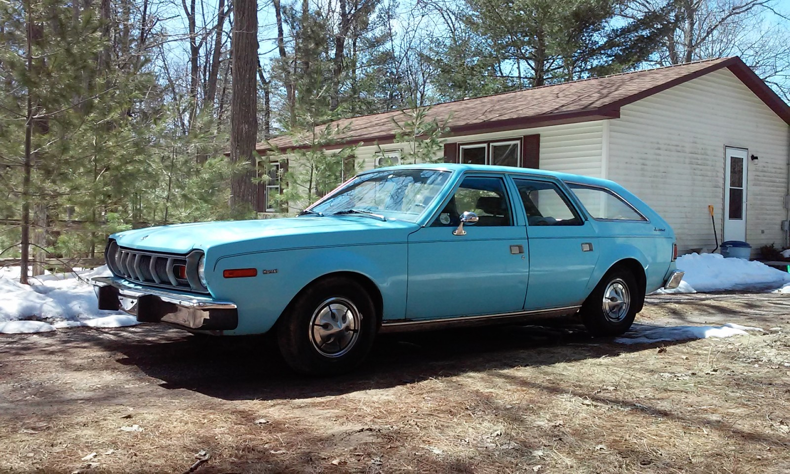 Exclusive 1975 Amc Hornet Sportabout