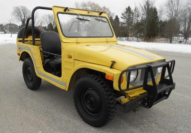 Memphis Mudder: 1972 Suzuki LJ20