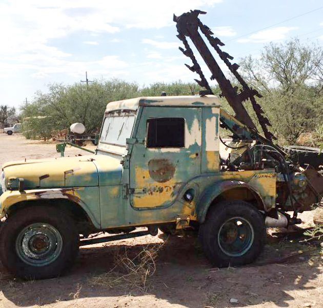 Go-For-Digger Trencher: 1953 Willys Trencher