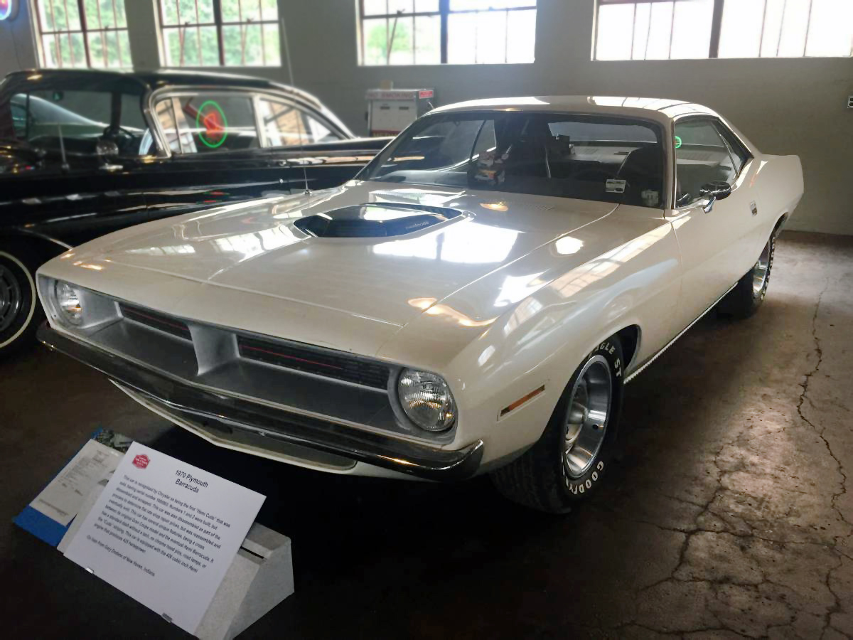 1st Hemi Cuda 1970 Plymouth Barracuda