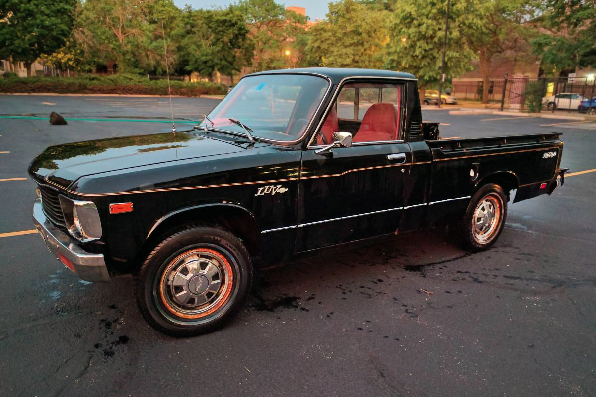 Isuzu Barn Finds 1980 Chevy Pickup Truck The First Generation Luv Light Utility Vehicle Which Was Made For 1972 Model Years Its Purest Iteration Of Ended In 1982