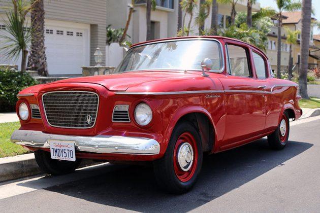 Rust-Free Red Ride: 1959 Studebaker Lark VI