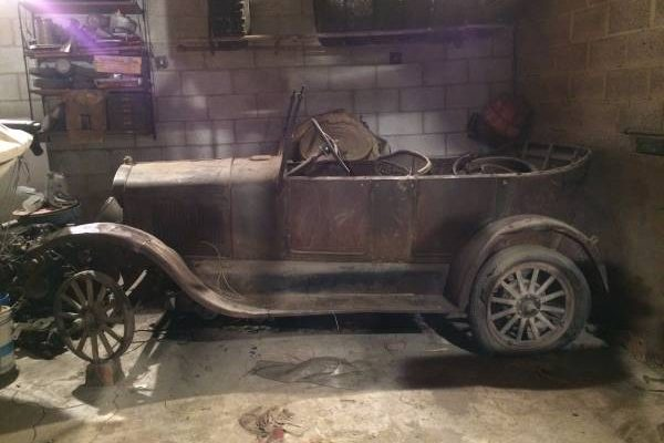 Sitting For 60 Years 1927 Ford Model T