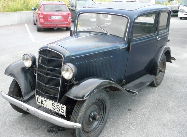 A Little Car that Could: 1936 Opel P4