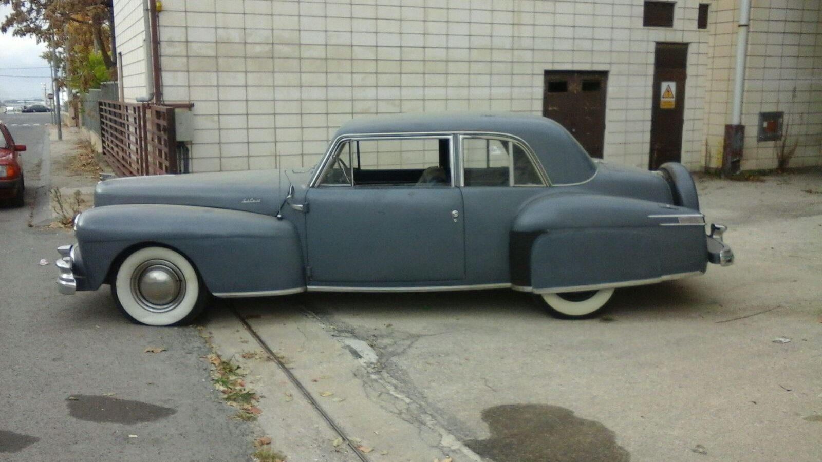 Not Primer Gray 1947 Lincoln Continental Club Coupe