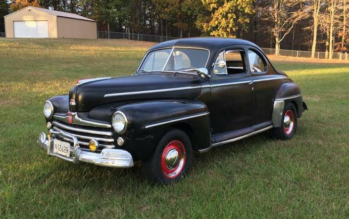 Real Moonshine Runner: 1947 Ford Coupe