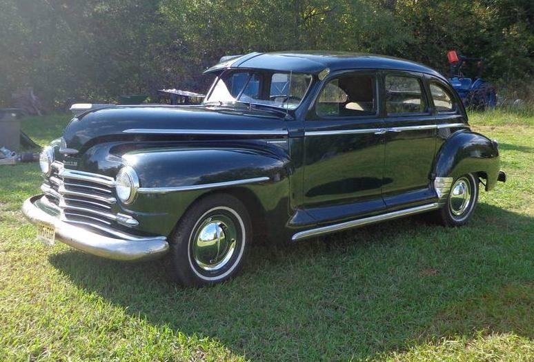 Killer Doors 1947 Plymouth Special Deluxe