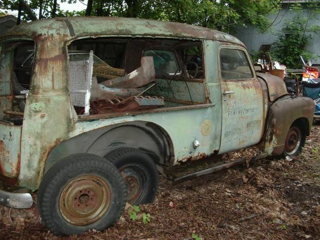 So Rare Yet So Rusty: 1948 Chevrolet Canopy Express