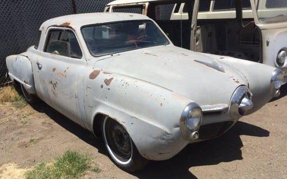 Bullet Nose Baker 1951 Studebaker Starlight Coupe