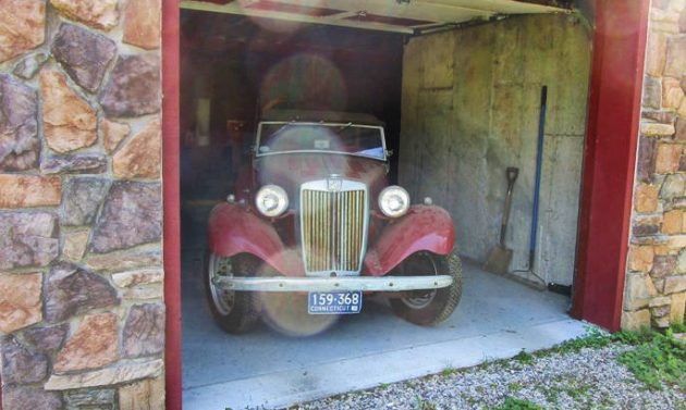 BF AUCTION: 1953 MG TD Project