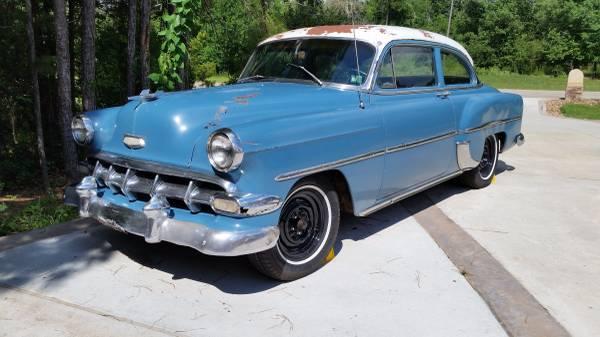 Real Texas Barn Find: 1954 Chevrolet 210 Delray