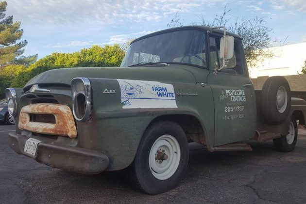 Wearing What Looks Like Honest Patina This Pickup Is Said To Be A One Family Work Truck Its A110 Badges But Listed As An A100