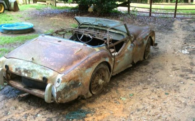 Returning To Earth: 1960 Triumph TR3 Project