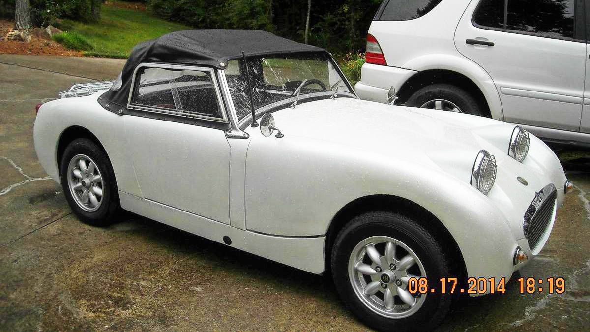 Smiling Back At You 1961 Austin Healey Sprite