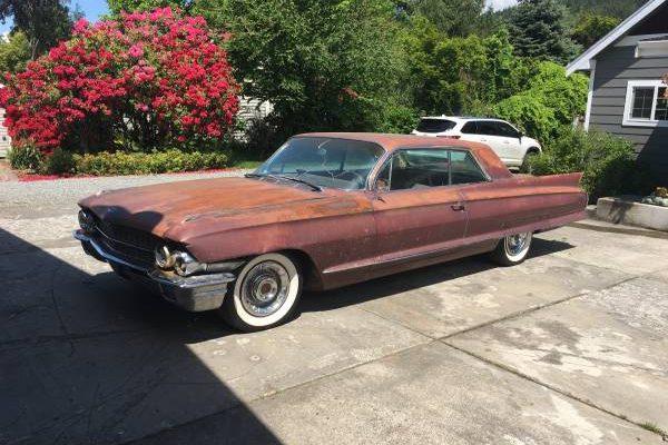 Weathered 1962 Cadillac Series 62