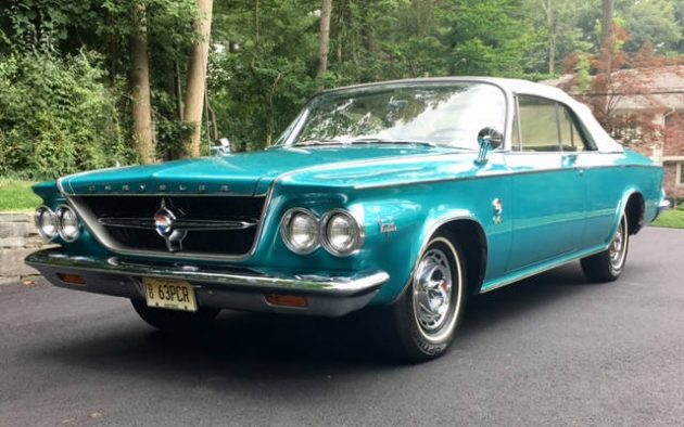 BF AUCTION: 1963 Chrysler 300 Pace Setter Convertible