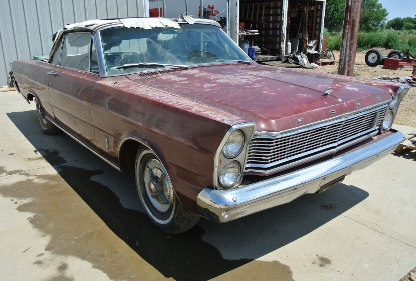 Muscle Cars List >> 4-Speed Drop Top: 1965 Ford Galaxie 500 XL