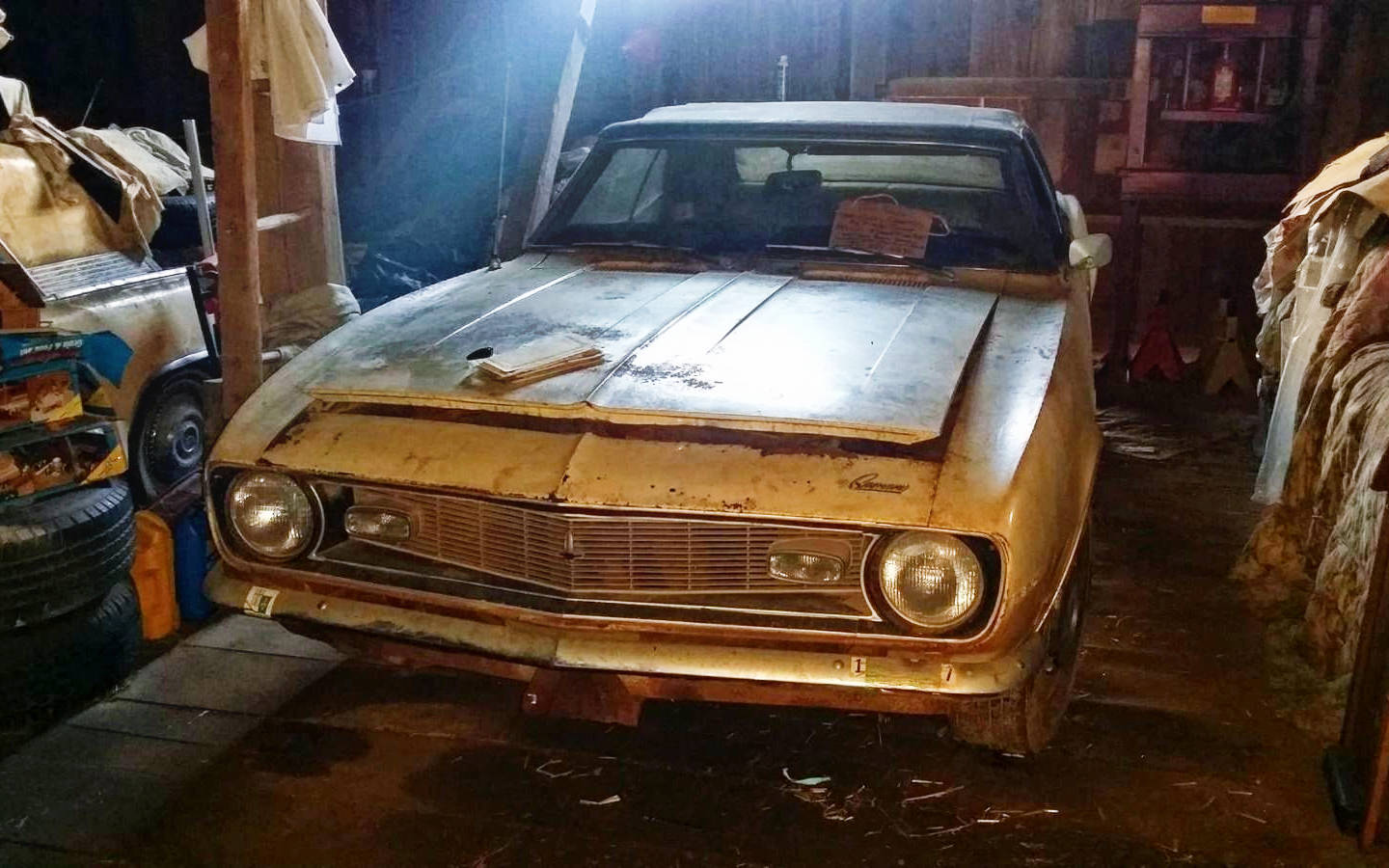 One Owner Barn Find 1968 Camaro Convertible
