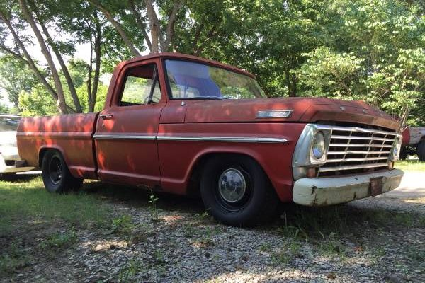 Bumpside Beauty 1967 Ford F100 Short Bed