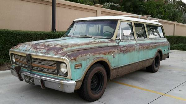 Surf Wagon:  1968 Chevrolet 3-Door Suburban