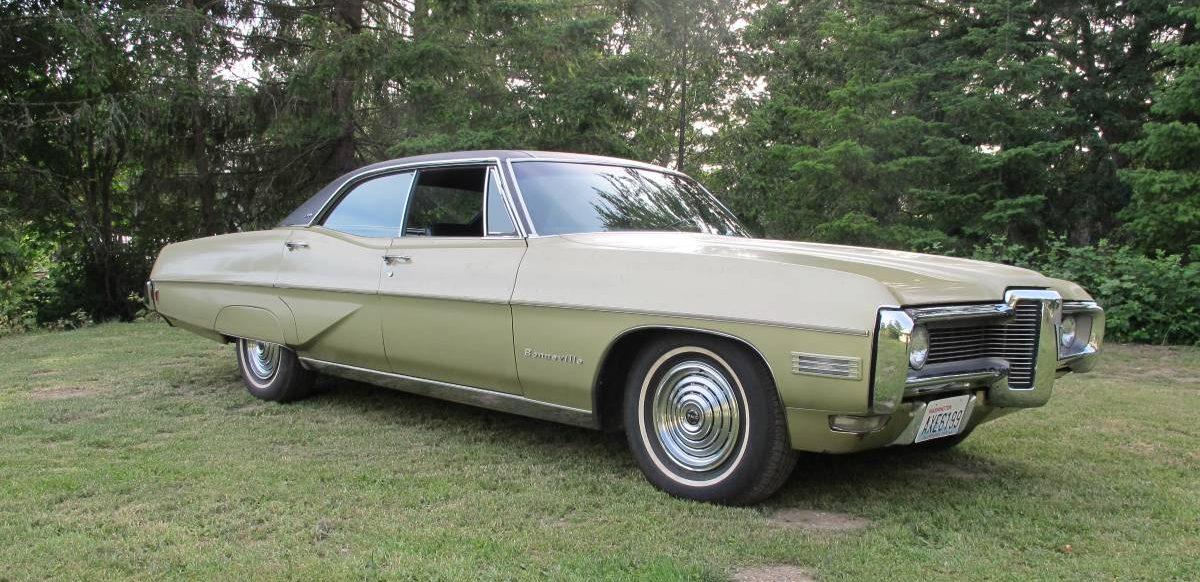 Used Car Auctions >> 18k Mile 1968 Pontiac Bonneville Brougham