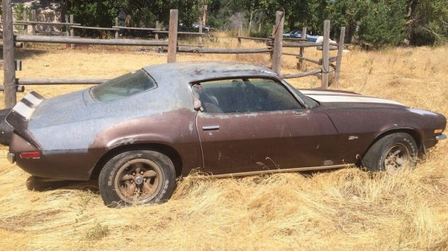 Out To Pasture 1973 Camaro Z28