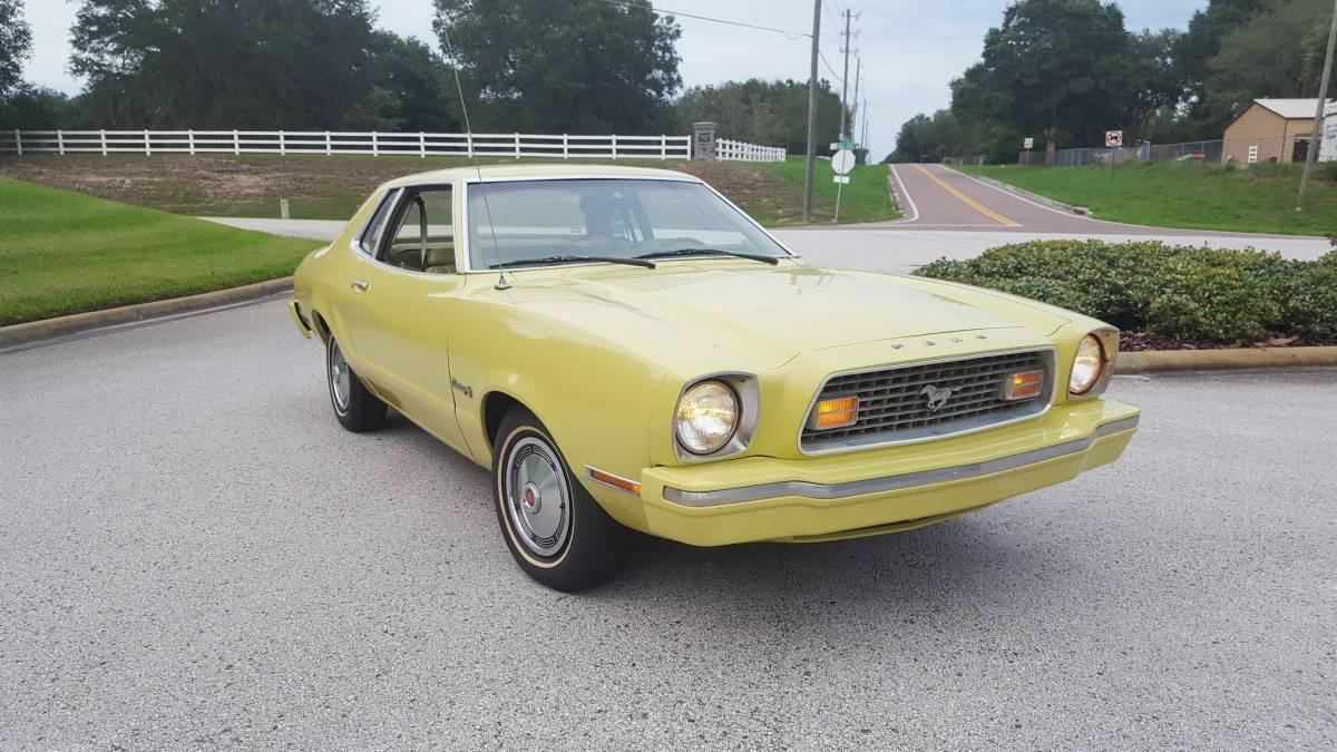 Going Bananas 1974 Ford Mustang Ii