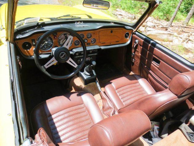EXCLUSIVE: 1974 Triumph TR6