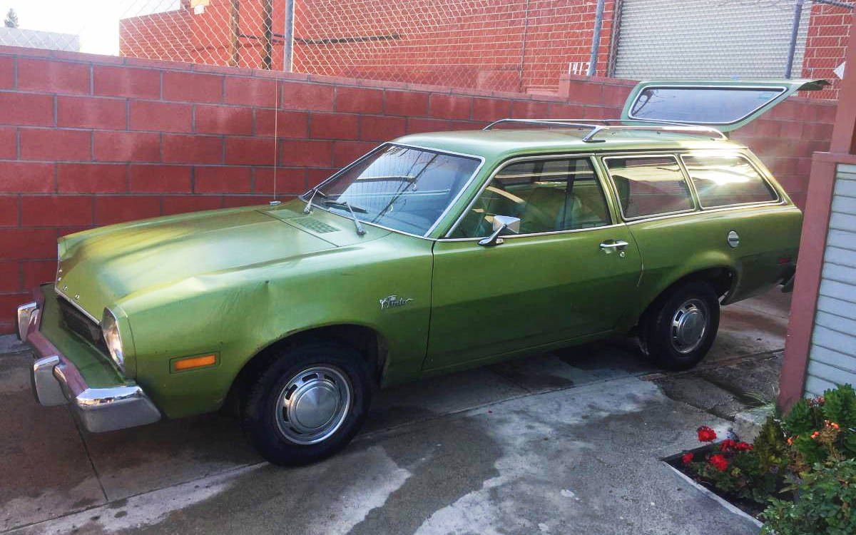 If WALL-E Were A Car: 1976 Ford Pinto Wagon Update