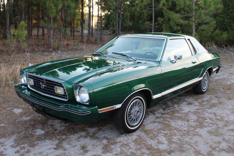 Mr Clean S Mustang 1977 Ford Mustang Ii Ghia