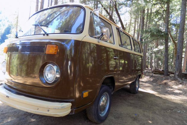 1978 Volkswagen Bus in Time-capsule for Over 20 Years!