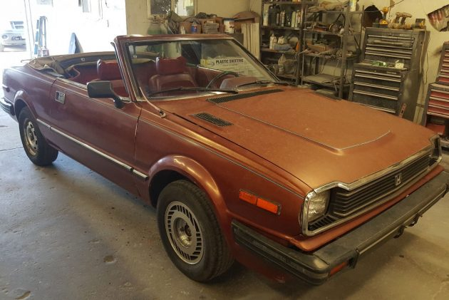 1 Of 50? 1982 Honda Prelude Solaire Convertible
