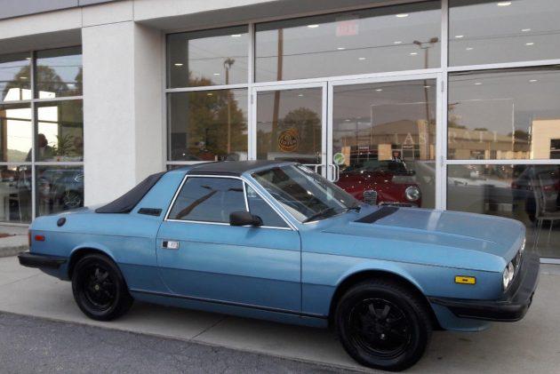 One Of 2,100: 1982 Lancia Beta Zagato Spyder