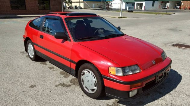 Featherweight Fighter: 1989 Honda CRX Si