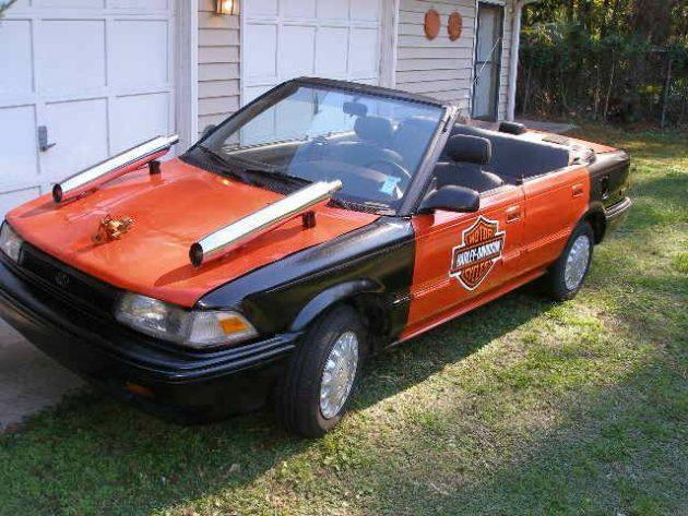 What Might Have Been 1990 Toyota Corolla Harley Car
