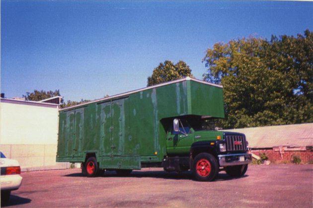 800 Original Miles: 1995 GMC Top Kick Moving Van