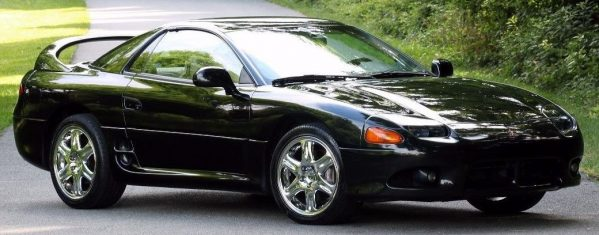 Solano Black Pearl Halo 1997 Mitsubishi 3000gt Vr4