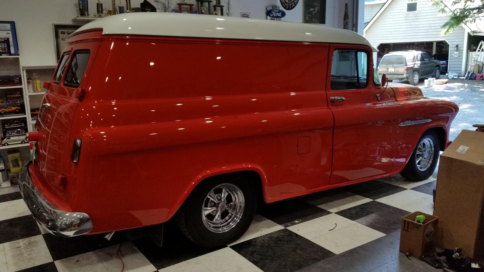Tax Deduction 1957 Chevrolet Panel Truck