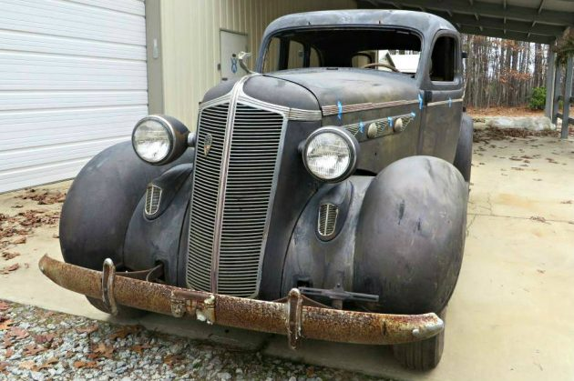 Ready To Be Revived: 1936 Desoto Airstream