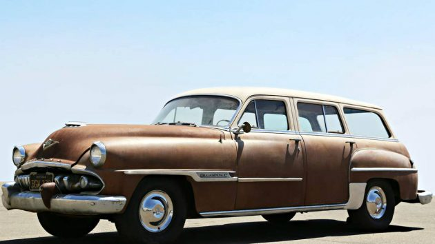 Family Beauty: 1954 Desoto Firedome Wagon