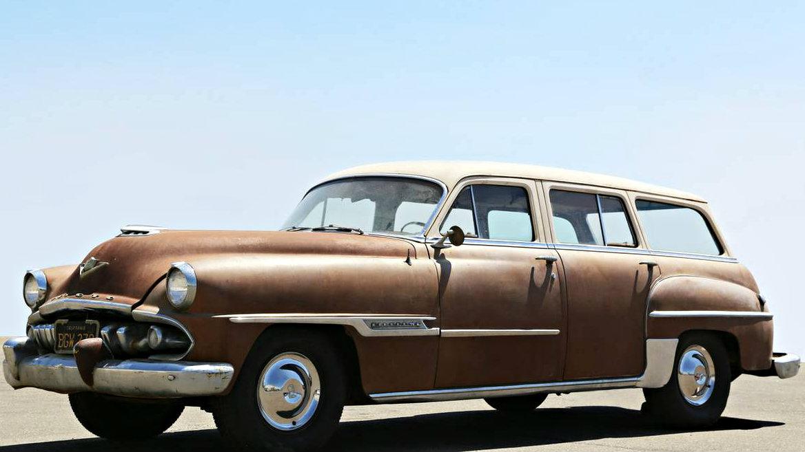Craigslist Classifieds Los Angeles >> Family Beauty: 1954 Desoto Firedome Wagon