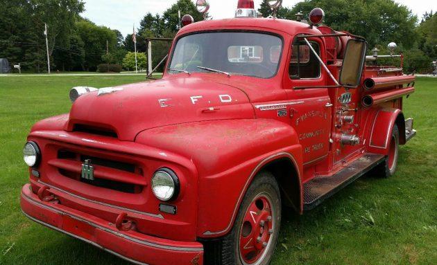 Cherry On Top: 1955 International Fire Truck